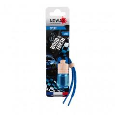 Ароматизатор автомобильный подвесной Nowax Wood&Fresh Sport жидкость (NX07711)