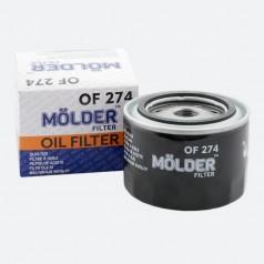 Фильтр масляный MOLDER OF274 (аналог WL7168/OC384/W9142)