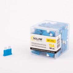 Предохранители стандарт SOLAR AF315 15А 100шт