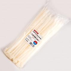 Хомуты пластиковые CARLIFE 7,6x300 мм Белые