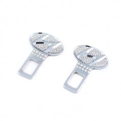 Заглушки металлические со стразами crystal_Hyundai