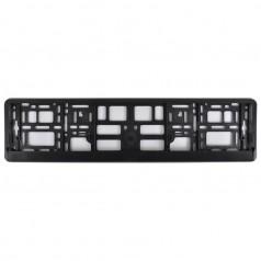 Рамка номера CarLife черный пластик (NH100)