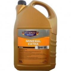 Минеральное моторное масло Aveno Mineral Extra 20W-50 5L (3011004-005)