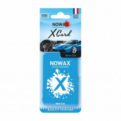 Ароматизатор на зеркало NOWAX X Card New Car (NX07534)