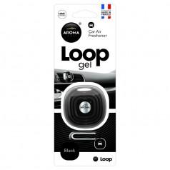 Ароматизатор Aroma Car Loop Gel Black