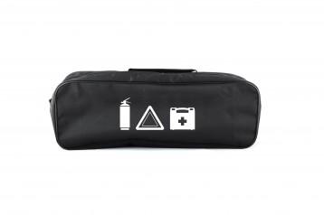 Сумка-органайзер в багажник черная полиэстер BELTEX без логотипа (SU3)