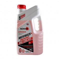 Антифриз NOWAX G12 концентрат красный 10 кг (NX10006)