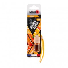 Ароматизатор автомобильный подвесной Nowax Wood&Fresh Orange жидкость (NX07709)