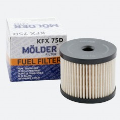 Фильтр топливный MOLDER KFX75D (аналог WF8256/KX85DEco/PU830X)