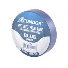 Изолента CONDOR синяя 30 м (K1130)