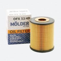 Фильтр масляный MOLDER OFX534D (аналог WL7294/OX163/DE/HU820X)