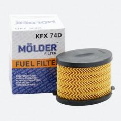 Фильтр топливный MOLDER KFX74D (аналог WF8177/KX84DEco/PU1021X)