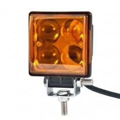 Доп LED фара BELAUTO BOL0403QLA 800Лм (точечный янтарный)