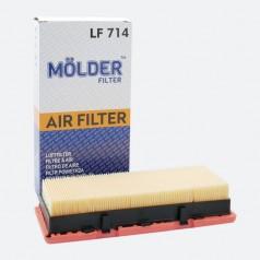 Фильтр воздушный MOLDER LF714 (аналог WA6375/LX824/C2771)