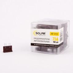 Предохранители стандарт SOLAR AF313 7,5А 100шт