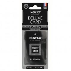 Ароматизатор целлюлозный 6 г Nowax серія Delux Card Platinum (NX07735)