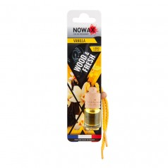 Ароматизатор автомобильный подвесной Nowax Wood&Fresh Vanilla жидкость (NX07713)
