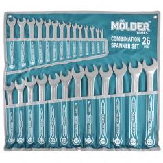 Набор ключей комбинированных MOLDER CR-V 6-32 мм 26 шт (MT58126)