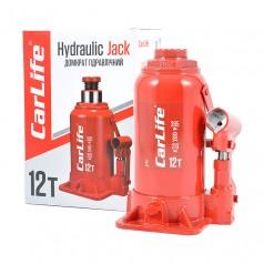 Домкрат бутылочный 12 т 210-395 мм гидравлический CARLIFE (BJ412)