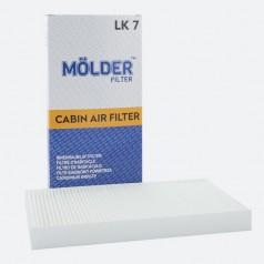 Фильтр салонный MOLDER LK7 (аналог WP9034/LA117/CU3337)