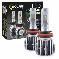 Светодиодные лампы LED SOLAR H11 CANBUS 12/24V 6500K 6000Lm 50W Cree Chip 1860 (8611)