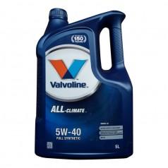 Моторное масло Valvoline ALL-climate DIESEL C3 5W-40 5 л (872277)
