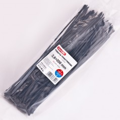 Хомуты пластиковые 3,6x250 мм черные CARLIFE (BL36x250)