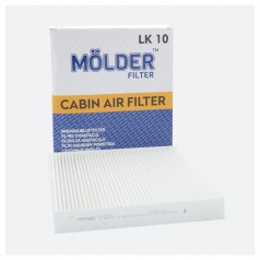 Фильтр салонный MOLDER LK10 (аналог WP9036/LA120/CU2545)