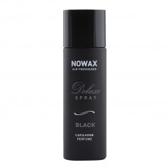Ароматизатор для авто и дома аэрозоль 50 мл Nowax Deluxe Spray Black (NX07750)
