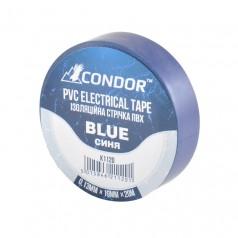 Изолента CONDOR синяя 20 м (K1120)