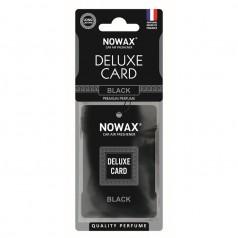 Ароматизатор целлюлозный 6 г Nowax Delux Card Black (NX07733)