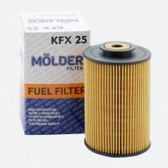 Фильтр топливный MOLDER KFX25D (аналог 33167E/KX35/P707)