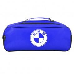 Сумка-органайзер в багажник синаяя полиэстер BELTEX BMW (SU35)