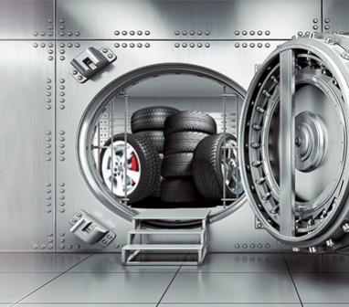 Как хранить шины у себя в гараже или квартире