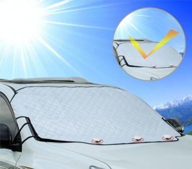 Как защитить авто от солнца и пыли