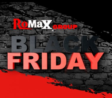 Black Friday на Romax Group - допольнительные скидки до - 10%