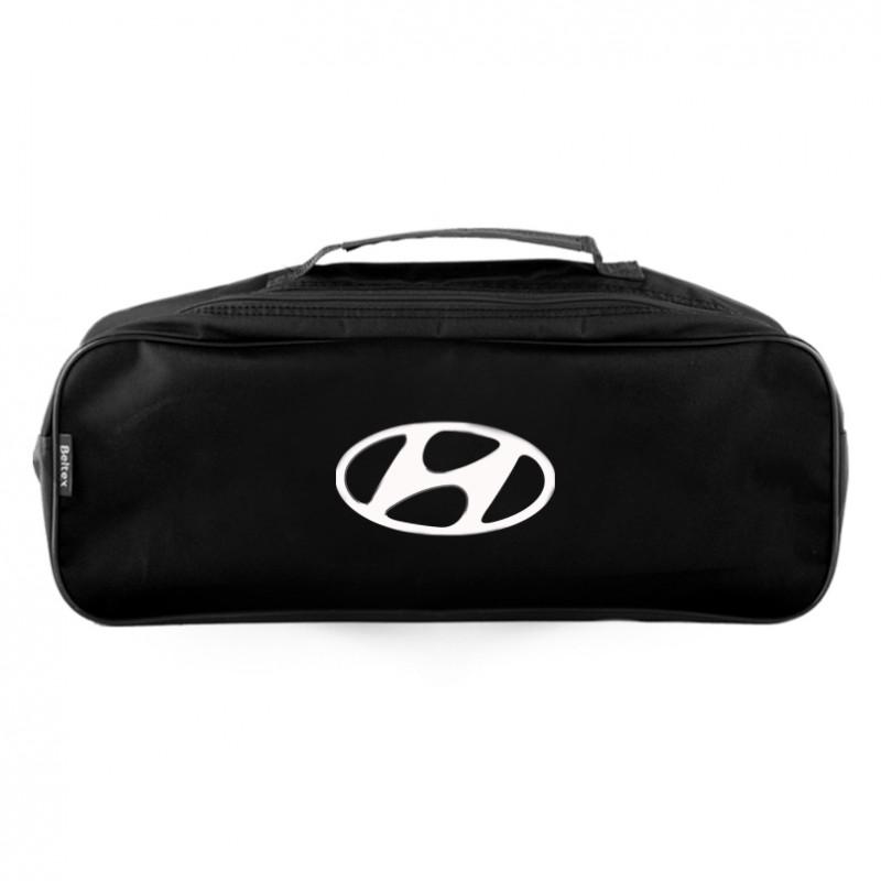 Сумка-органайзер в багажник черная полиэстер BELTEX Hyundai (SU39)