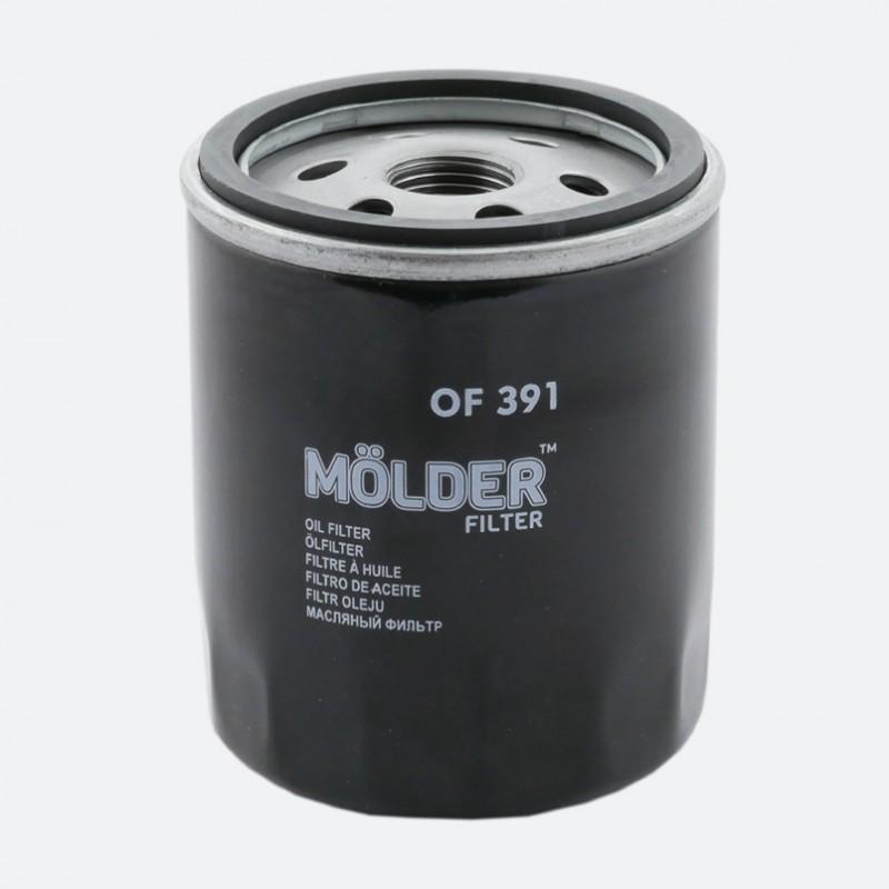 Масляный фильтр MOLDER аналог WL7324/OC988/W7182 (OF391)