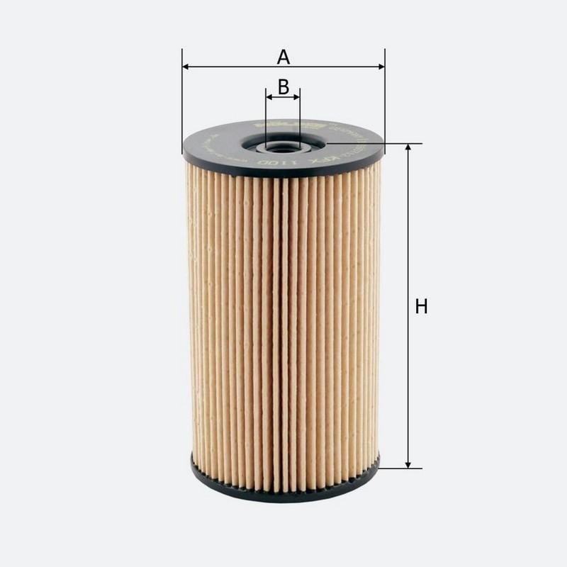 Топливный фильтр MOLDER аналог WF8388/KX220DEco/PU825X (KFX110D)