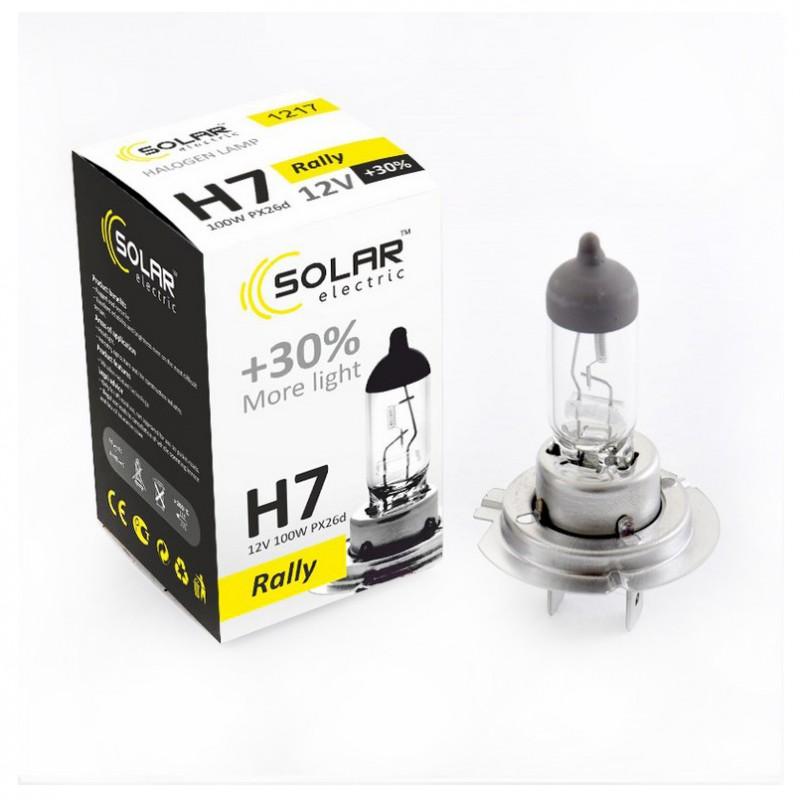 Галогеновая лампа Solar H7 Rally +30% 12V 1217