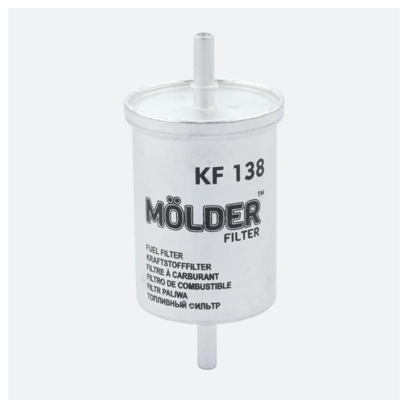 Топливный фильтр MOLDER аналог WF8034/KL248/WK612 (KF138)