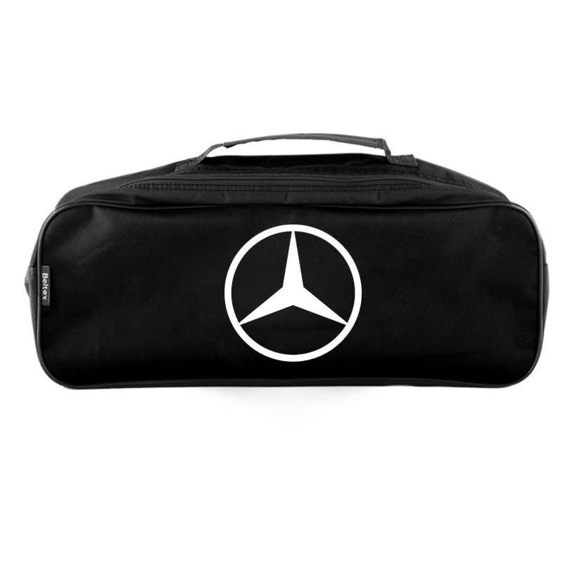 Сумка-органайзер в багажник черная полиэстер BELTEX Mercedes (SU44)
