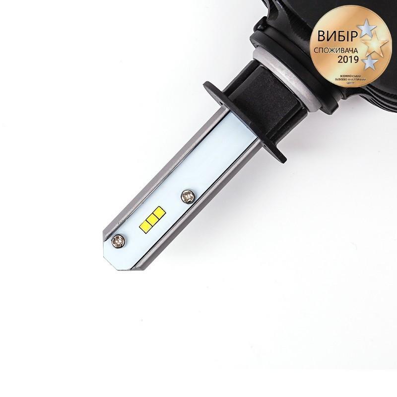 Светодиодные автолампы H1 CARLAMP Night Vision Led для авто 4000 Lm 6000 K (NVH1)