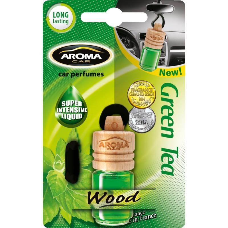 Ароматизатор Aroma Car Wood Green Tea Зеленый чай