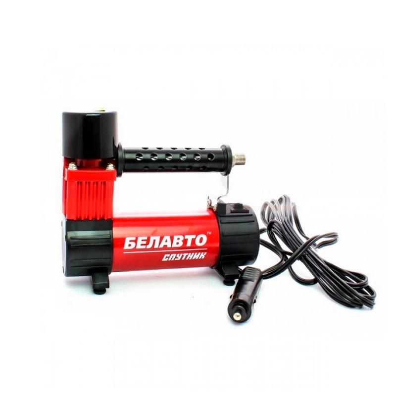 Автомобильный компрессор BELAUTO Спутник однопоршневой 32 л/мин (BK48)