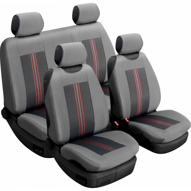 Авточехлы универсальные Beltex Comfort комплект серый без подголовников 52110