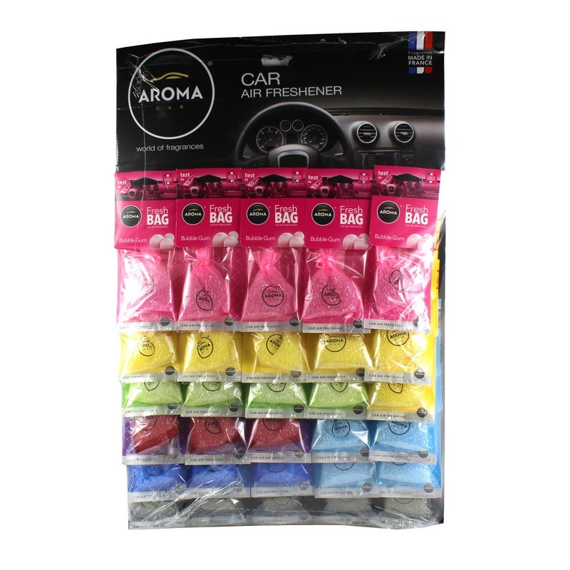 Планшет ароматизаторов Aroma Car Fresh Bag микс (10 шт)
