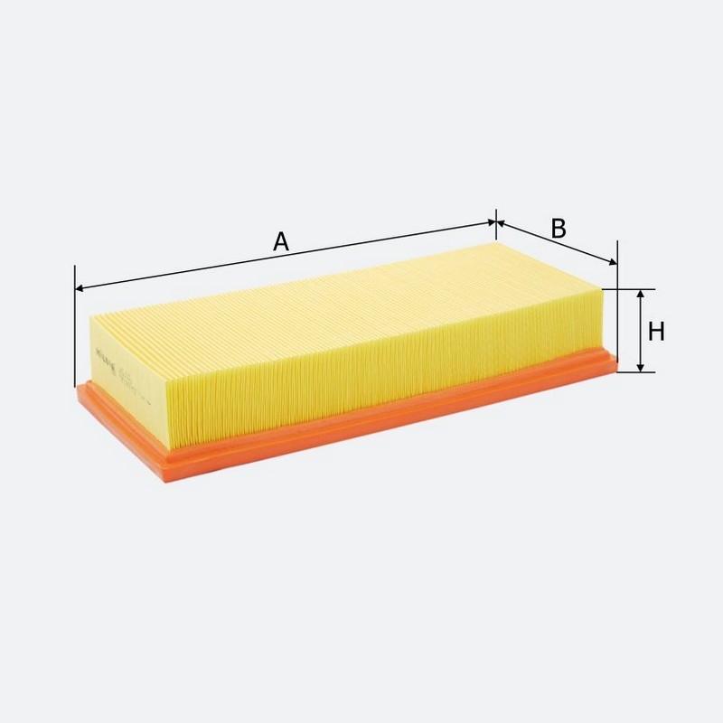 Воздушный фильтр MOLDER аналог WA6166/LX54/C34109 (LF44)