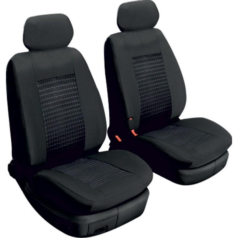 Авточехлы универсальные Beltex Comfort 1+1 черные без подголовников 51210