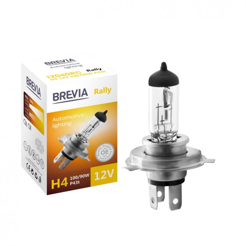 Галогенная лампа автомобильная Brevia H4 12V RALLY